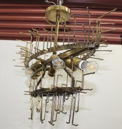 Venini 1960s Mid Century Modern Venini Glass Oval Chandelier - 1806190