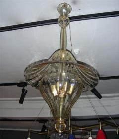 Venini 1960s Murano glass lantern by Venini - 909474