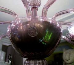 Venini 1970s Murano chandelier by Venini - 909316