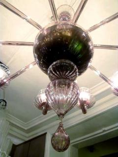 Venini 1970s Murano chandelier by Venini - 909318