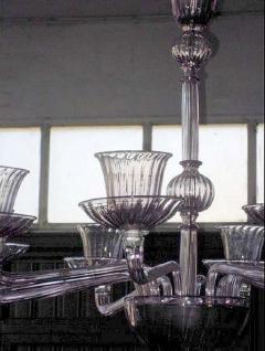 Venini 1970s Murano chandelier by Venini - 909319