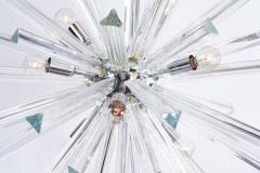Venini Crystal Glass Rod Sputnik Chandelier by Venini - 1671578