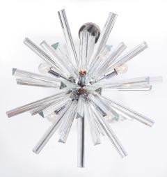 Venini Crystal Glass Rod Sputnik Chandelier by Venini - 1671581