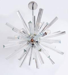 Venini Crystal Glass Rod Sputnik Chandelier by Venini - 1671582
