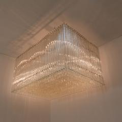 Venini Exceptional Venini Light Sculpture Italy 1970s - 1039251