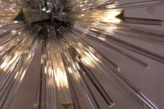 Venini Extraordinary Huge Murano Glass Sputnik Chandelier in the manner of Venini - 543959