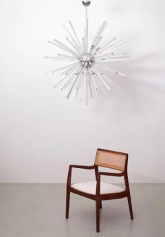 Venini Extraordinary Huge Murano Glass Sputnik Chandelier in the manner of Venini - 543961