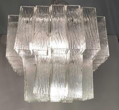 Venini Italian Modern Handblown Glass Chandelier Venini - 1747310