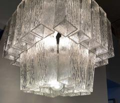 Venini Italian Modern Handblown Glass Chandelier Venini - 1747311
