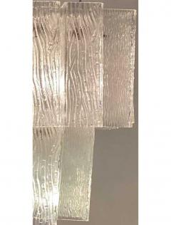 Venini Italian Modern Handblown Glass Chandelier Venini - 1747315