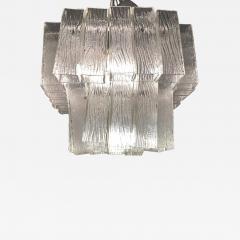 Venini Italian Modern Handblown Glass Chandelier Venini - 1750265