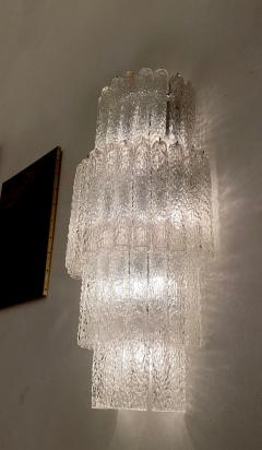 Venini Monumental Italian Murano Glass Chandelier or Ceiling Light Attr Venini 1970 - 2057479