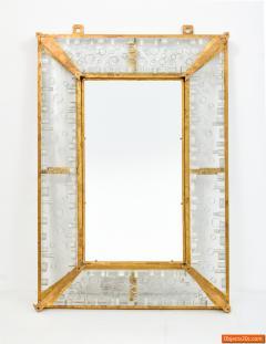 Venini Monumental Venini Mirror 1967 Two Available - 474359