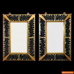 Venini Monumental Venini Mirror 1967 Two Available - 474360
