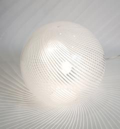Venini Murano Glass Swirl Table Lamp - 2057415