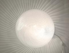 Venini Murano Glass Swirl Table Lamp - 2057416