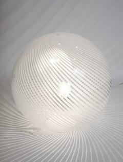 Venini Murano Glass Swirl Table Lamp - 2057419
