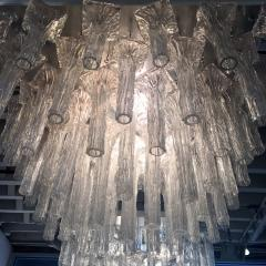 Venini Oversized pair chandeliers by Venini with ca 150 glass pieces - 889442