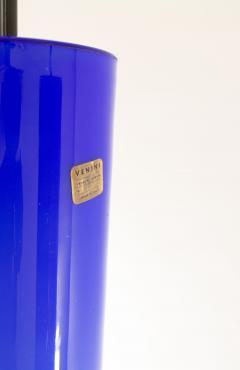 Venini Pair of Cobalt blue Murano glass pendants by Venini 1950s - 1830860