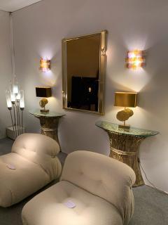 Venini Pair of Murano Glass Sconces by Venini Italy 1970s - 1164323