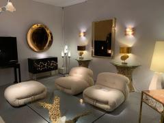 Venini Pair of Murano Glass Sconces by Venini Italy 1970s - 1164325
