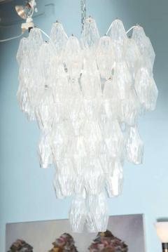 Venini Pair of Poliedri Hanging Fixture by Venini - 1840898