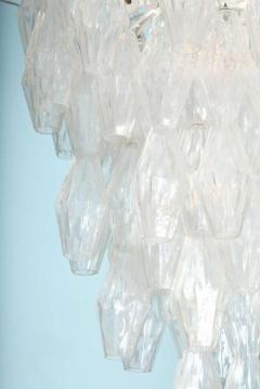 Venini Pair of Poliedri Hanging Fixture by Venini - 1840903