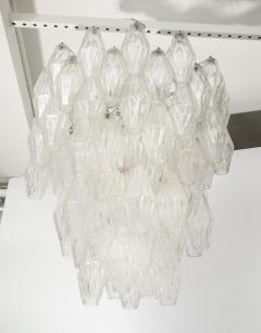 Venini Pair of Poliedri Hanging Fixture by Venini - 1840909