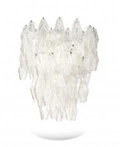 Venini Pair of Poliedri Hanging Fixture by Venini - 1840910