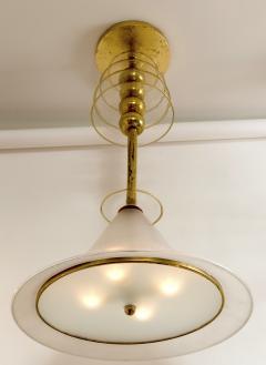 Venini Rare Vintage Venini Ceiling Fixture - 1167423