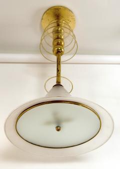 Venini Rare Vintage Venini Ceiling Fixture - 1167428