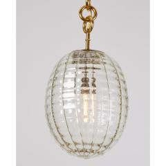 Venini Venini Blown Glass Lantern Italy 1950s - 1909530