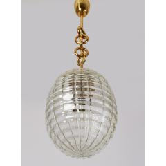 Venini Venini Blown Glass Lantern Italy 1950s - 1909532