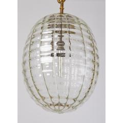 Venini Venini Blown Glass Lantern Italy 1950s - 1909533