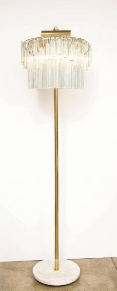 Venini Venini Crystal Prism Floor Lamp - 1907950