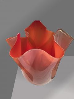 Venini Venini Fazzoletto Vase - 916775