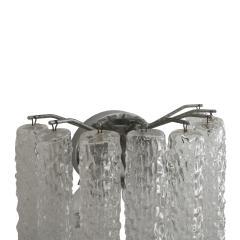 Venini Venini Murano Glass Pair of 1960s Italian Sconces - 1971308