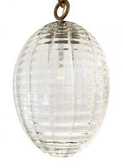 Venini Venini Murano Glass Pendant Italy 1940s - 2070306