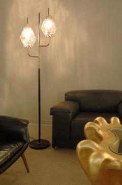 Venini Venini Poliedri Floor Lamp with Artisan Glass Shades 1958 - 1063623