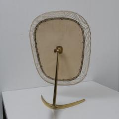 Vereinigte Werkst tten F r Kunst Im Handwerk Brass Vanity Mirror Germany 1950 - 1210046