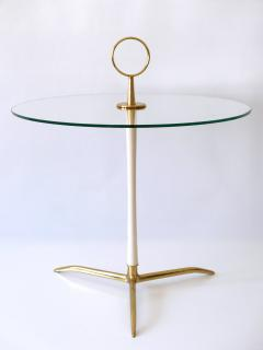 Vereinigte Werkst tten M nchen Elegant Mid Century Modern Side Table by Vereinigte Werkst tten Germany 1950s - 2134159