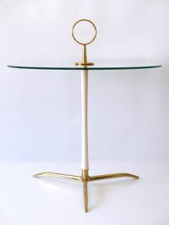 Vereinigte Werkst tten M nchen Elegant Mid Century Modern Side Table by Vereinigte Werkst tten Germany 1950s - 2134160