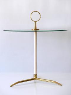 Vereinigte Werkst tten M nchen Elegant Mid Century Modern Side Table by Vereinigte Werkst tten Germany 1950s - 2134161