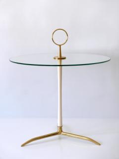 Vereinigte Werkst tten M nchen Elegant Mid Century Modern Side Table by Vereinigte Werkst tten Germany 1950s - 2134162