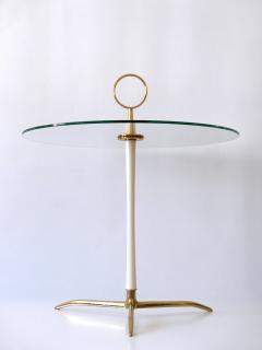 Vereinigte Werkst tten M nchen Elegant Mid Century Modern Side Table by Vereinigte Werkst tten Germany 1950s - 2134169