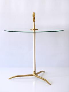 Vereinigte Werkst tten M nchen Elegant Mid Century Modern Side Table by Vereinigte Werkst tten Germany 1950s - 2134170