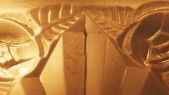 Verrerie d Art Degu French Art Deco Chandelier Signed by Degu France circa 1930 - 2016968