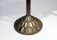 Verrerie d Art Degu Pair of French Art Deco Table Lamp Signed Degu  - 1876291