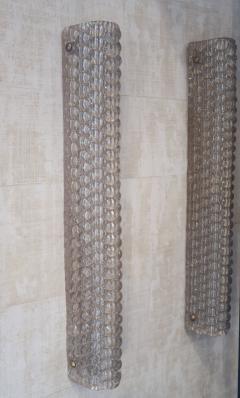 Vetri Murano A pair of Murano glass sconces Italy 90 - 970228