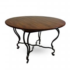Victoria Son Louis XV Style Steel Base Table - 745312